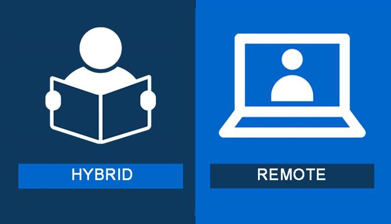 Hybrid or remote choice